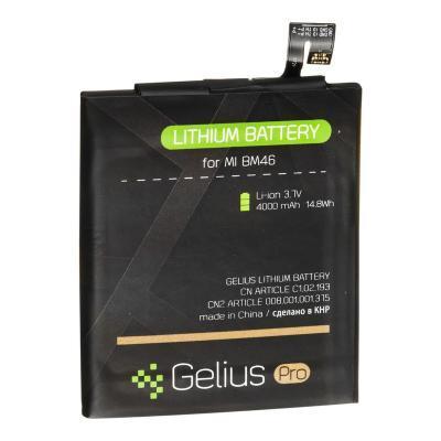 Аккумуляторная батарея для телефона Gelius Pro Xiaomi BM46 (Redmi Note 3) (4000 mAh) (67172)