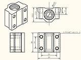 Подшипник линейный SC8UU для 3D-принтера, ЧПУ, фото 3