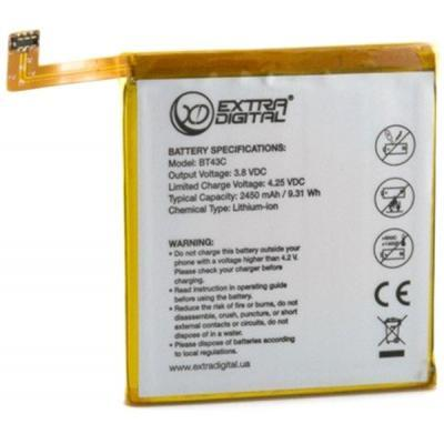Аккумуляторная батарея для телефона EXTRADIGITAL Meizu M2 Mini 2450 mAh (BMM6460)
