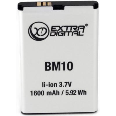 Аккумуляторная батарея для телефона EXTRADIGITAL Xiaomi Mi1 (BM10) 1600 mAh (BMX6437)
