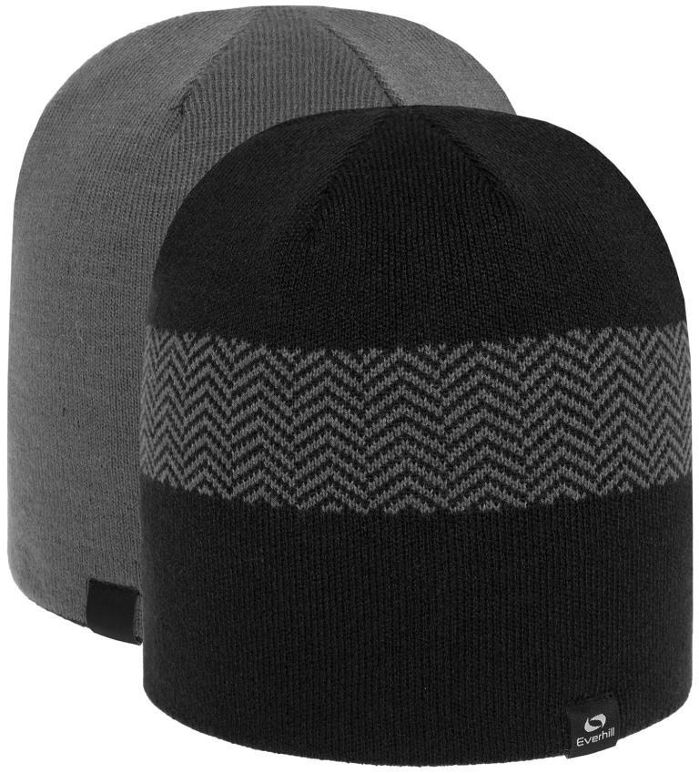 Мужская шапка Everhill HEZ18-CAM706 чорний S/