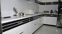 кухня в стиле хай-тек белая фото 74