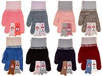 Перчатки детские Корона 0153 (варианты расцветок, M)