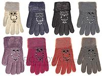 Перчатки детские Корона 0039 (варианты расцветок, S-M)