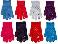 Перчатки детские Корона 5826 (варианты расцветок, S-M)