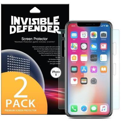 Пленка защитная Ringke для телефона Apple iPhone X /XS Full Cover (RSP4502)