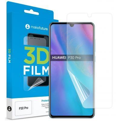 Пленка защитная MakeFuture для Huawei P30 Pro Black Full Cover Full Glue (MGFU-HUP30P)