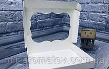 Коробка с окошком  10*15*3 см 10шт