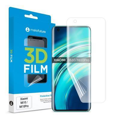 Пленка защитная MakeFuture Xiaomi Mi 10/10 Pro 3D Film (MFT-XM10/10P)