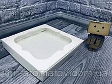 Коробка з віконцем 20х20х3 см 10шт