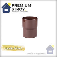 З'єднувач труби коричневий Profil 130/100
