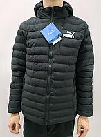 Ветровка мужская Puma черная, фото 1