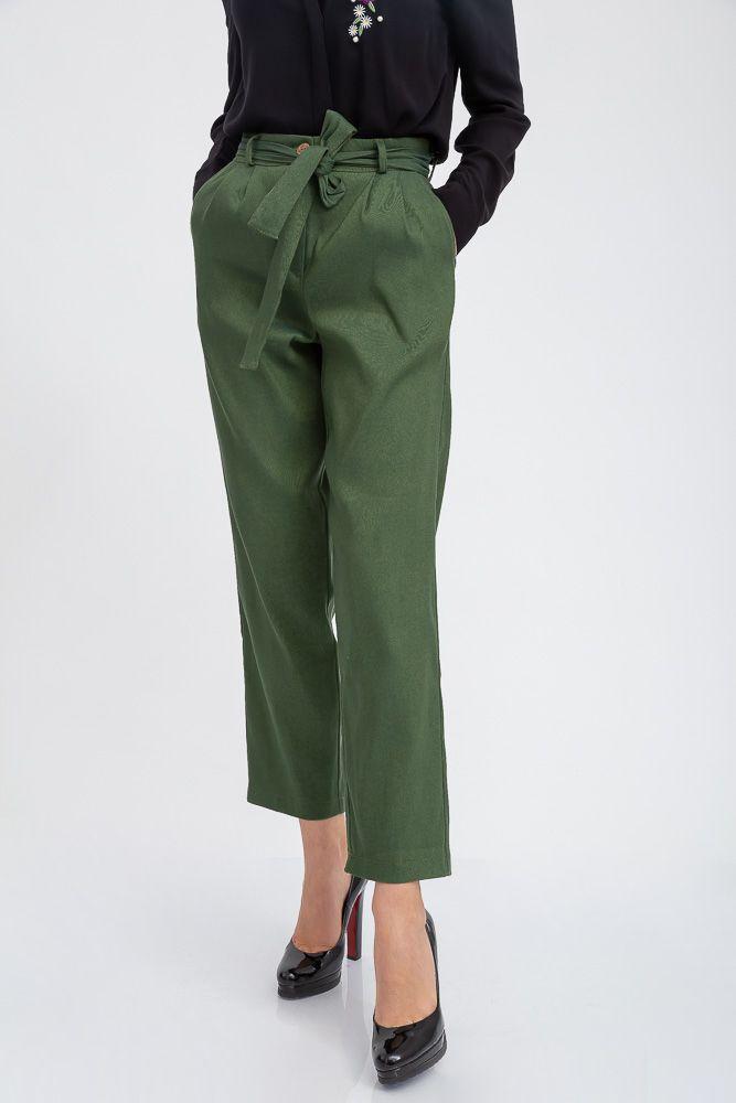 Кюлоты женские 115R342F цвет Зеленый