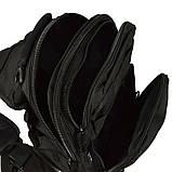 Сумка на плечо Mil-Tec 300x220x130мм черная, фото 5