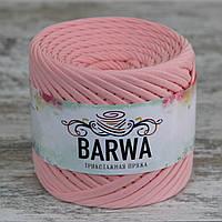 Трикотажная пряжа BARWA light 5-7 мм, Фламинго