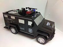 Електронна скарбничка-сейф з кодовим замком і відбитком cach truck ашинка hummer чорна