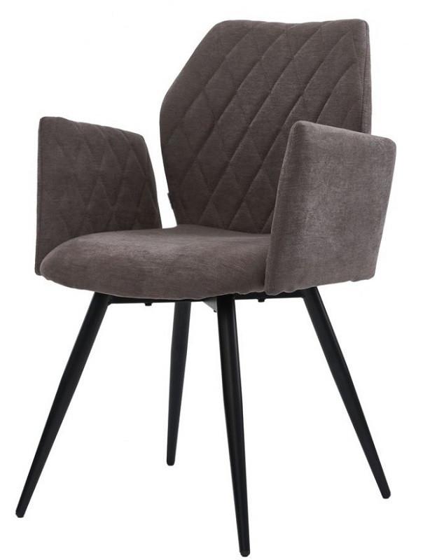 Кресло Glory серое стоун грей (111830) ткань Concepto