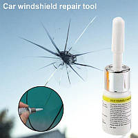 Полимер для ремонта лобового стекла, трещины сколы , быстрый ремонт, полимерное стекло клей для стекла