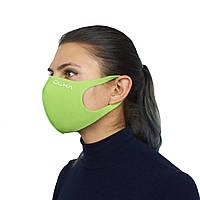 Многоразовая защитная маска ULKA Салатовая