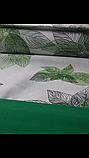 """Комплект полуторный постельного белья ТМ """"Ловец снов"""", Зеленые листья, фото 2"""