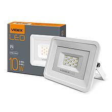 Прожектор 10W LED білий 5000K 220V 900Lm VIDEX