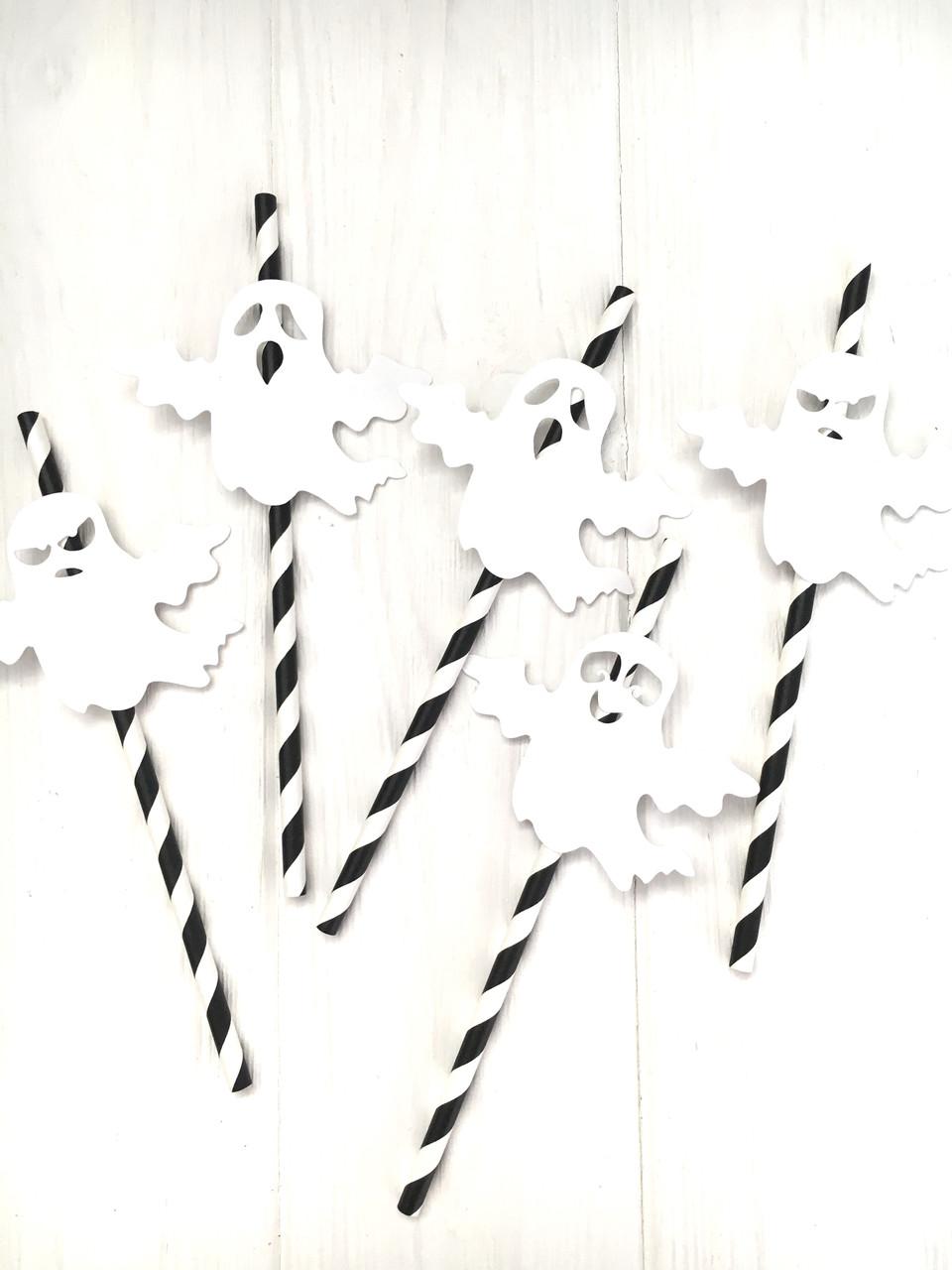 "Бумажные трубочки "" Ghost"" (10 шт.)"