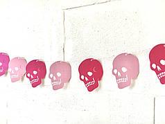 "Гирлянда ""Pink Skull"""