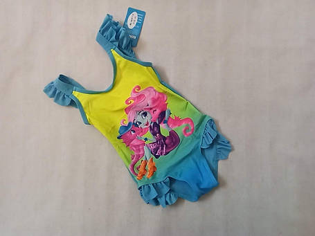 Купальник для девочек Z.FIVE 29712 Кариночка голубой (есть 28 30 32 34 36 размеры), фото 2