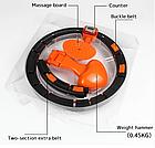 ОПТ Массажный обруч Pro Massaging Hula Hoop умный хулахуп тренажер со счетчиком для похудения портативный, фото 2