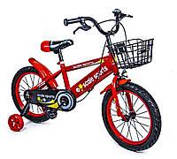 """Велосипед детский 16 """"Scale Sports"""" T13. Red (ручной и дисковый тормоз) 1138490598"""