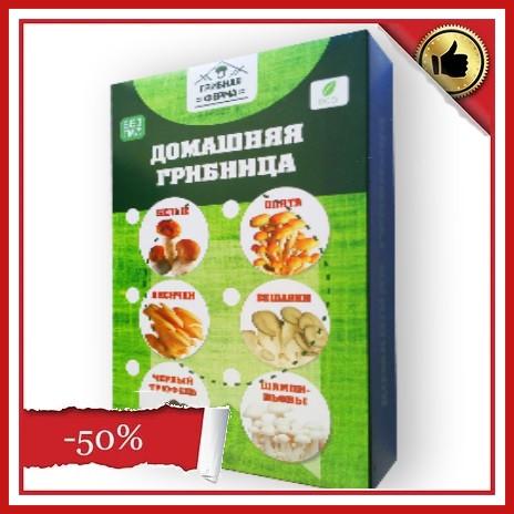 Диво грибниця, готовий засіяний міцелій для вирощування грибів вдома 6 видів.