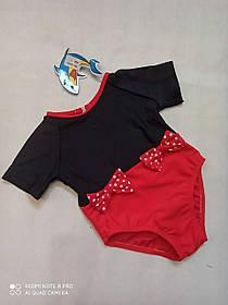 Купальник  слитный детский  Маричка 925  TERES  черный (В НАЛИЧИИ ТОЛЬКО  24 26  28 размеры)