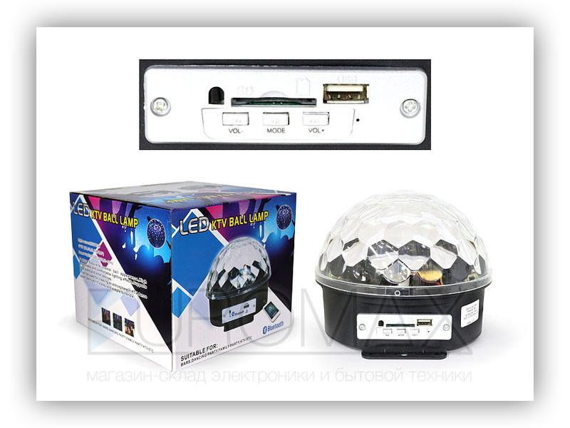 Диско шар (без обменов, без возвратов) 20шт RHD-10-MP3-BALL-20