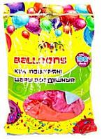 Воздушные шары набор 100шт №8527, 2,8г 30см перламутровые разноцветные