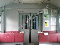 Реклама в вагонах поезда