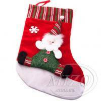 Новогодний носок «Дед Мороз» 32х22