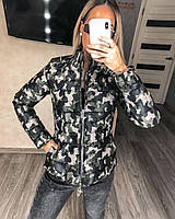 Теплая куртка Милитари арт-181 размер с м л (мд-о 490)