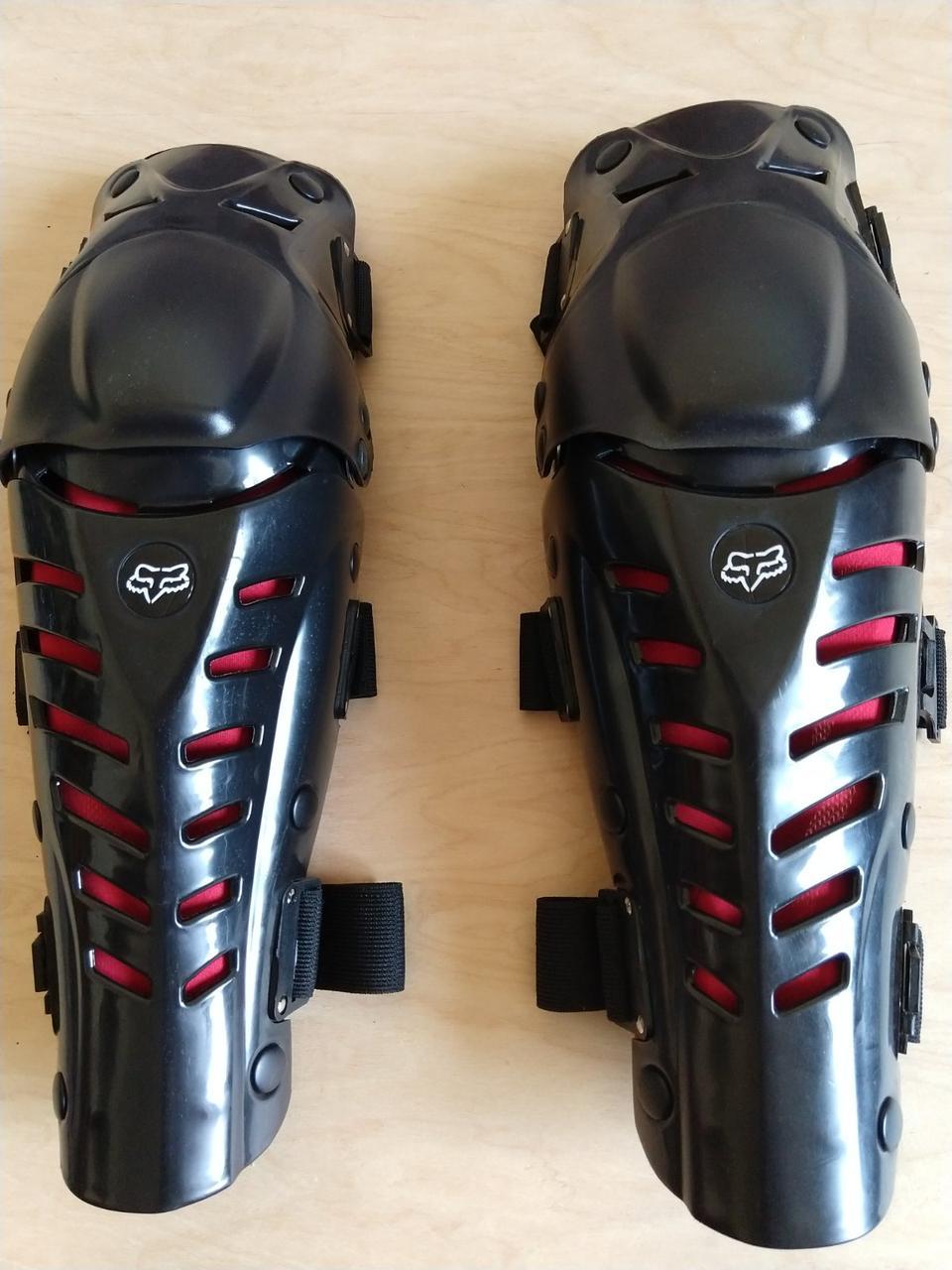 """Наколенники защитные щитки для мотоцикла/велосипеда """"Fox Raptor"""" Original"""