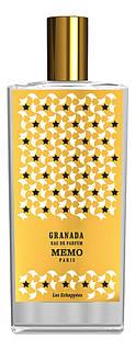 Оригінал Memo Granada 75ml Тестер Жіноча Парфумована вода Приміток Гранада