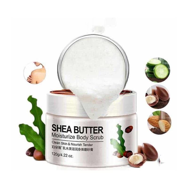 Скраб для тела Bioaqua Shea Butter Moisturize Body Scrub с маслом Ши