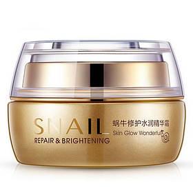 Крем для обличчя Bioaqua Snail Repair & Brightening