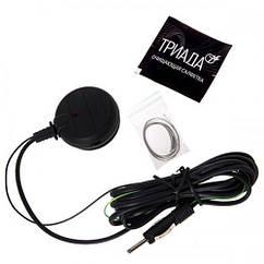 Активная автомобильная антенна Triada 160 gold 3 режима город/трасса/конв. УКВ (на спец. помехозащ. микросхеме) для автомобиля Автоантенна