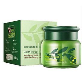 Зволожуючий крем для обличчя з зеленим чаєм Rorec Green Tea Water Cream