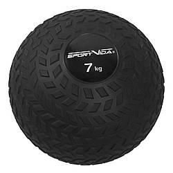 Слэмбол (медицинский мяч) для кроссфита SportVida Slam Ball 7 кг SV-HK0349 Black для дома и спортзала