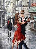 """Картина за номерами 3128 """"Танго"""" 40х50см, набір фарби акрил, кисть -3шт"""
