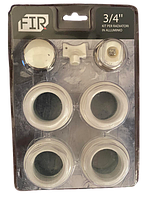"""Набор для подключения радиатора 1""""х3/4"""" FIR комплект для радиатора"""