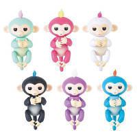 Інтерактивна мавпочка Fingerlings (white)! Топ продаж