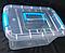 Контейнер пластиковий для зберігання дидактичного матеріалу  25*19*13 см, фото 3