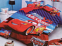 """Детское полуторное постельное белье """"Тачки"""",100% хлопок, фото 1"""