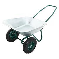 Тачка садово-строительная 2-х - колесная 140 л.80 кг «ВектоРВ» WB6211